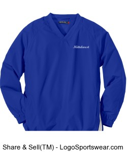 Pullover Wind Shirt, Sizes to 6XL Design Zoom