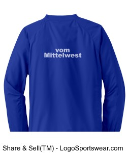 YOUTH V-Neck Wind Shirt (no name) Design Zoom